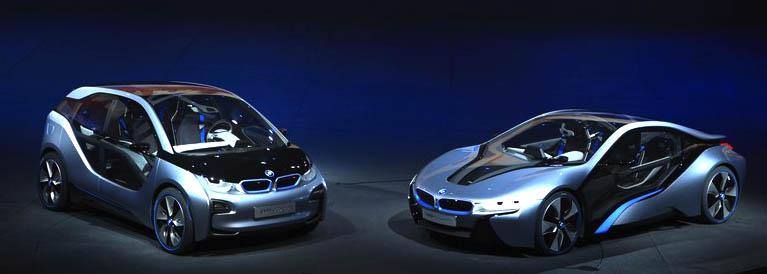 les futurs modèles BMWi3 et BMWi8