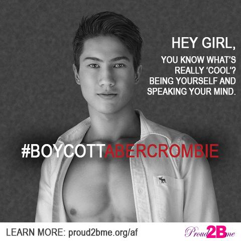#BoycottAbercrombie