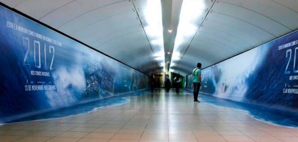 Street Marketing pour la sortie de 2012 au Brésil.