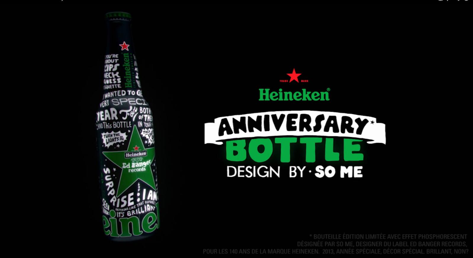 Heineken fête ses 140 ans en musique.
