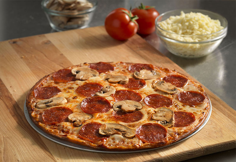 livraison domino 39 s pizza en h licopt re. Black Bedroom Furniture Sets. Home Design Ideas
