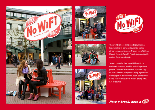 Zone sans wifi