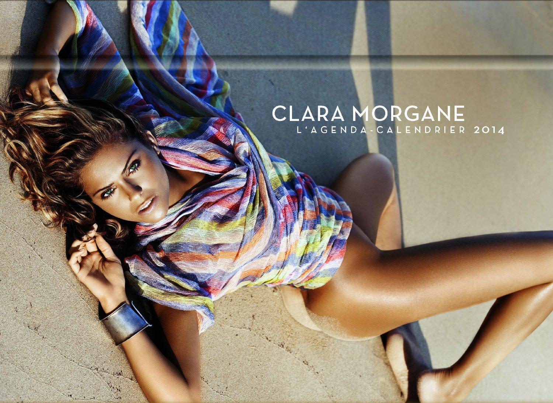 clara morgane calendrier 2014