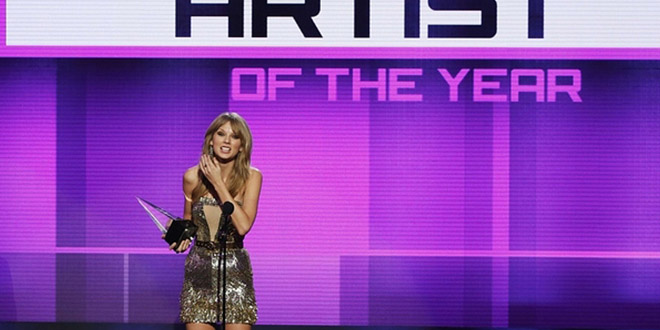taylor swift american music award