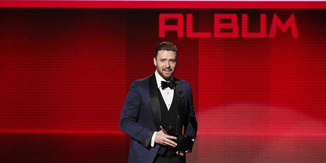 justin timberlake american music award
