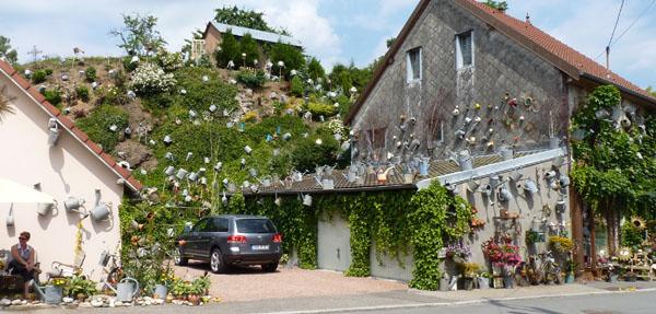 décoration façade de maisons insolite drole
