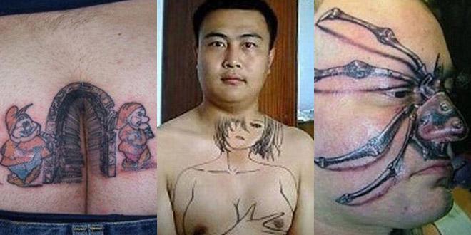 pire tatouage fail