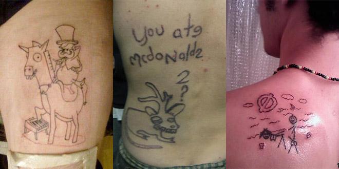 pire tatouage