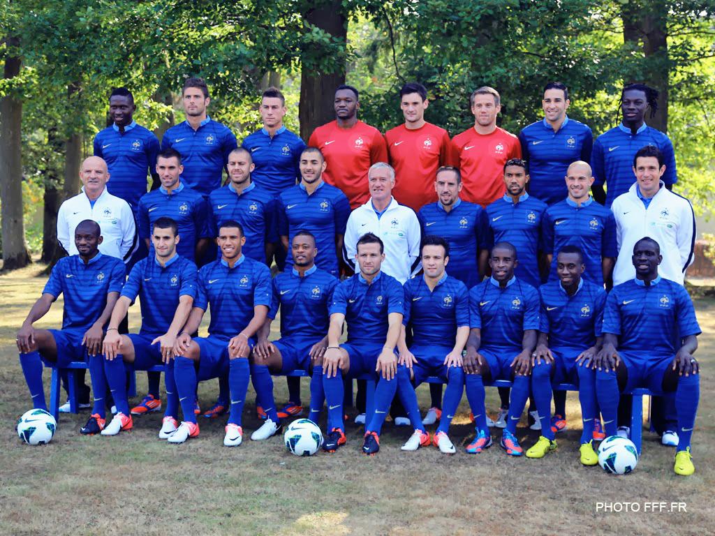 FFF equipe de france bresil 2014