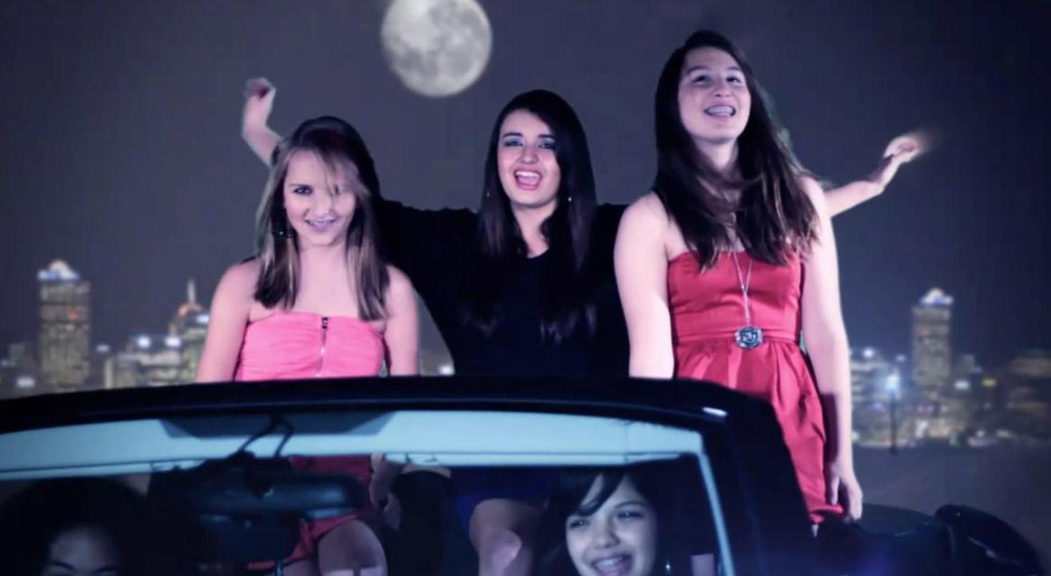 Rebecca Black Friday clip