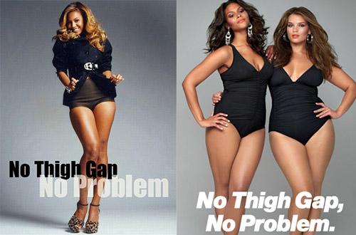 phénomène du thigh gap groland