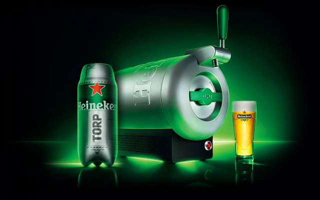 TheSub heineken biere pression maison homemade