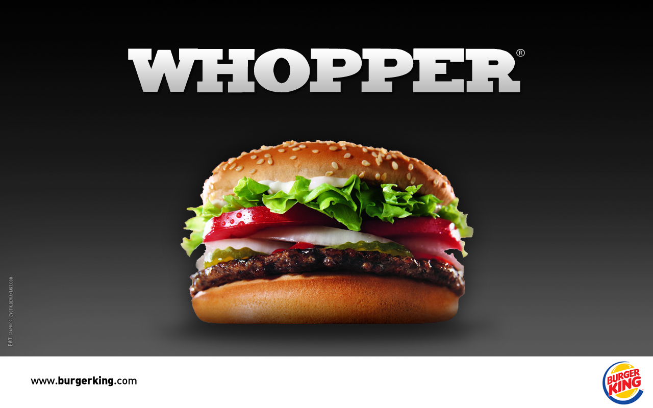 burger king menu hamburger whooper