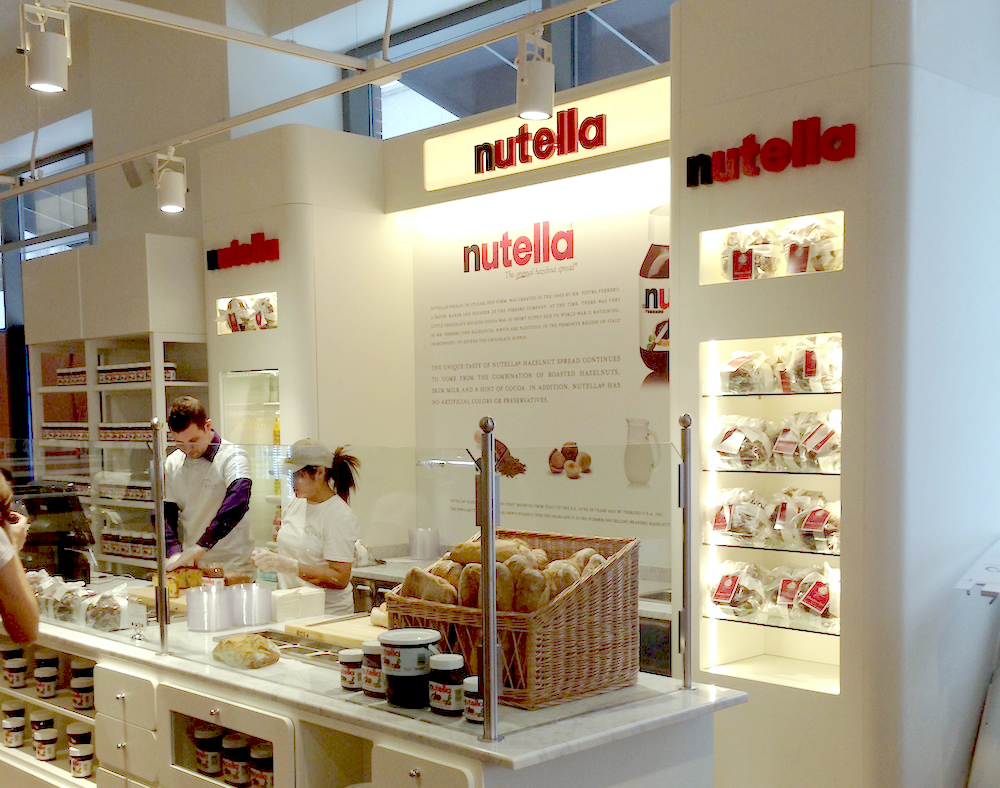 lancement nutella bar eataly chicago