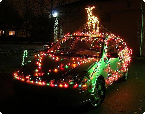 Halloween Vehicle Decorations