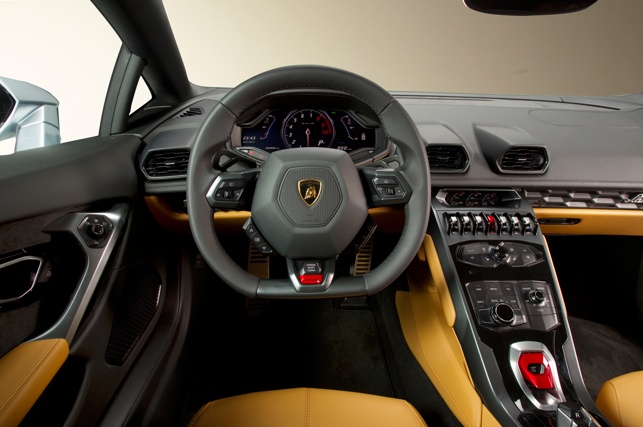 Lamborghini Huracan 2015 intérieur