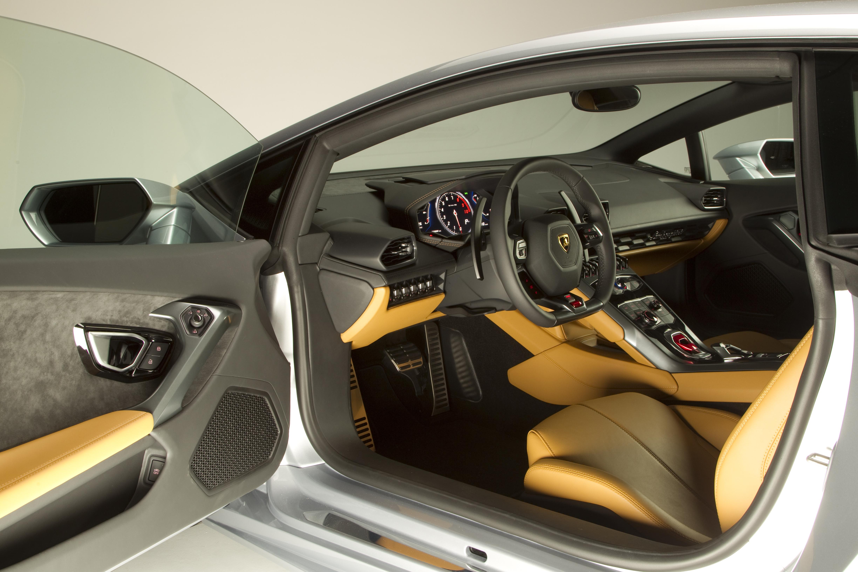 Lamborghini voiture sport huracan 2015