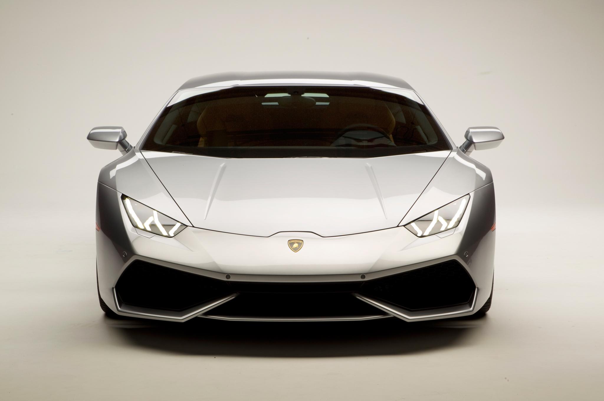 2015 Lamborghini Huracan vue devant