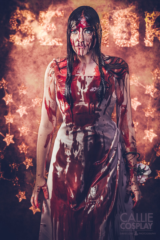 callie cosplay film d'horreur Carrie3 par david love