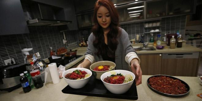 Park Seo yeon payee pour manger