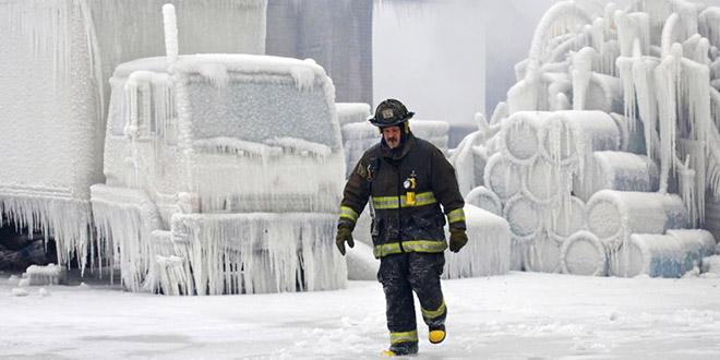 tempête hercules aux etats unis expérience dans le froid polaire