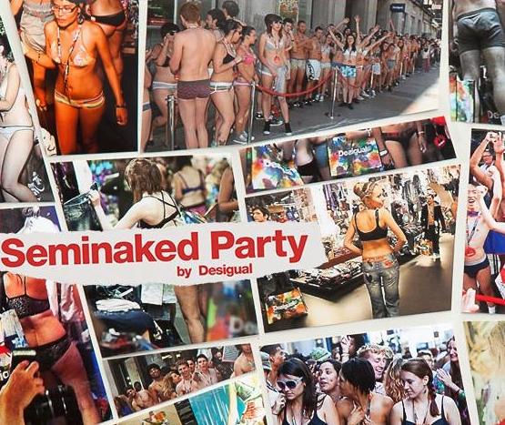 Seminaked Party Desigual