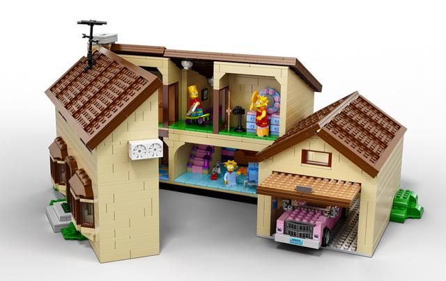 la boite de lego simpsons a 200$