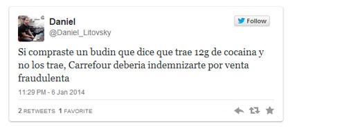 cocaine twitter