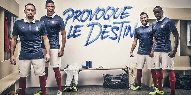 equipe france mondial 2014 maillot officiel
