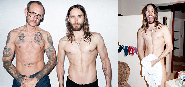 jared leto pose nu pour terry richardson photo sexy hot 4
