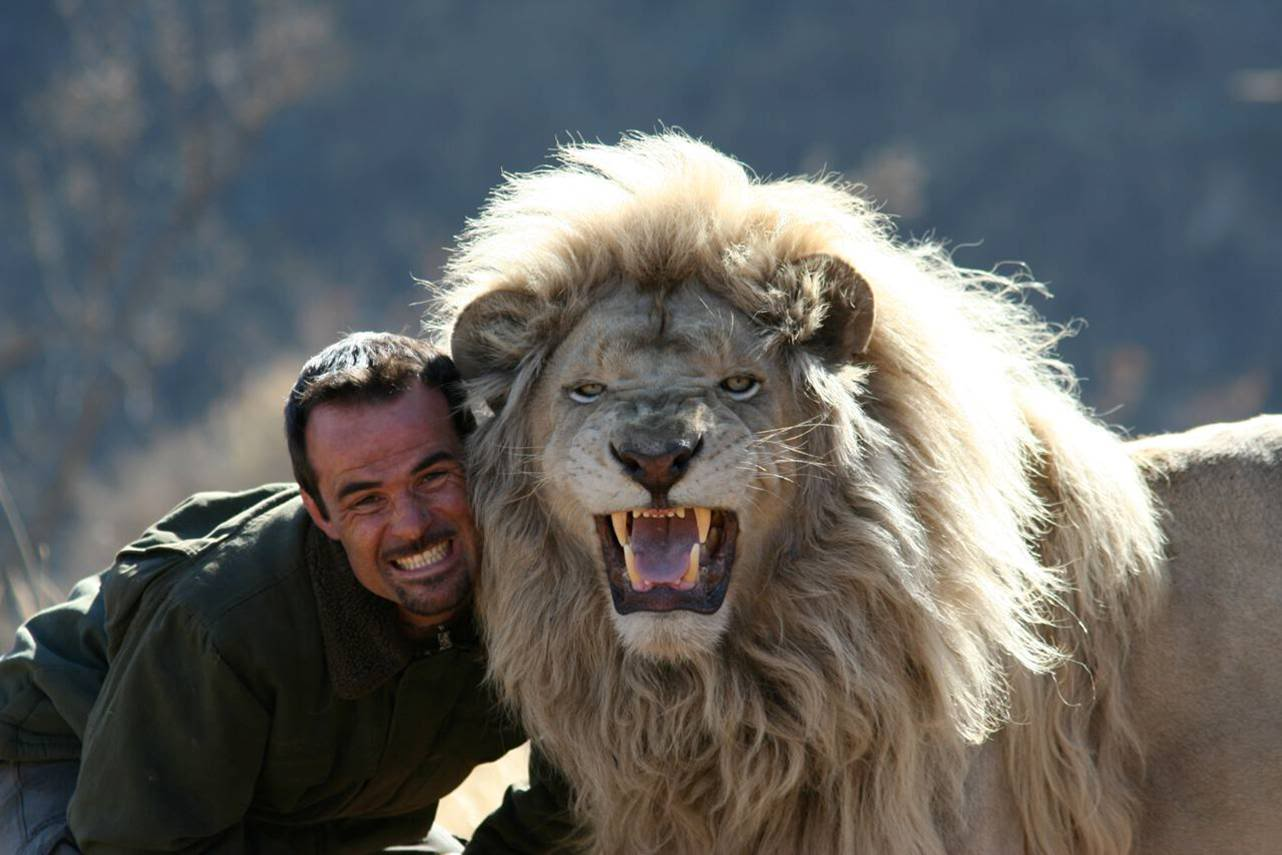 kevin richardson lion go pro sourire
