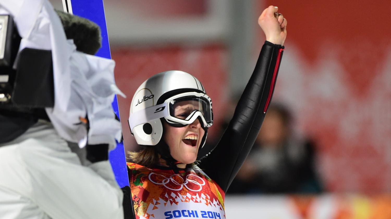 coline mattel saut a ski jeux olympiques sotchi