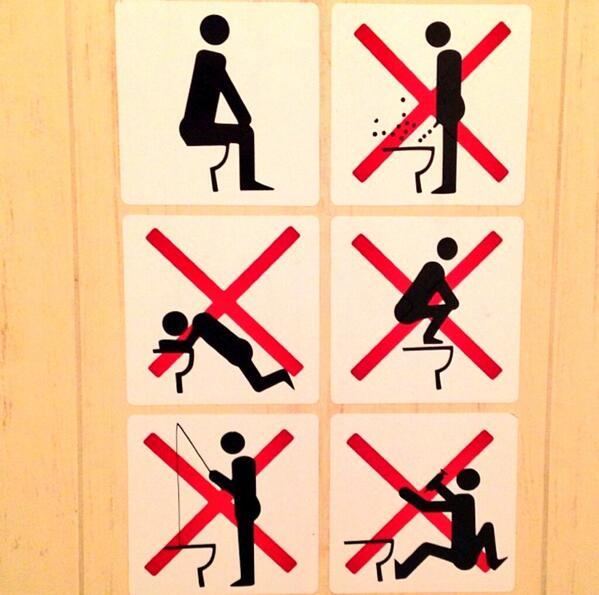 règles d'hygiènes a respecter aux toilettes de sotchi