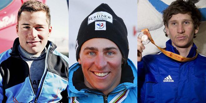 Bovolenta midol chapuis podium france ski cross