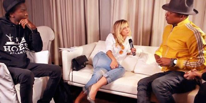 Enora malagre interview Pharrell