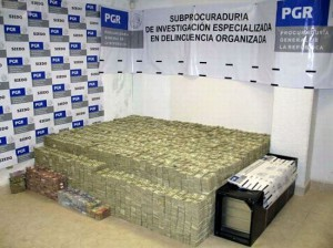 Mexique matelas billets drogue