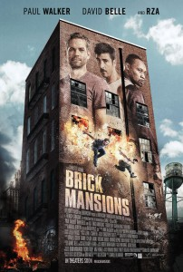 affiche poster film brick Mansions paul walker