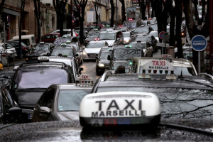 greve des taxis