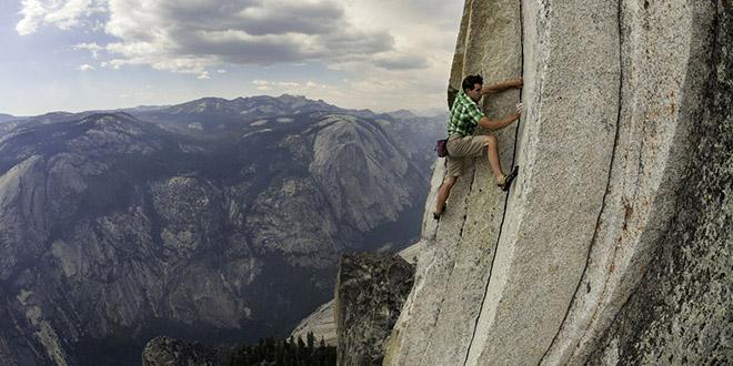 alex honnold grimpe mur