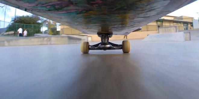 amskateur video go pro skate