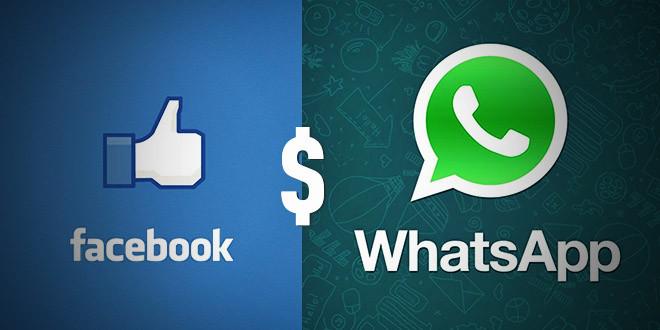 aquisition whatsapp facebook rachat