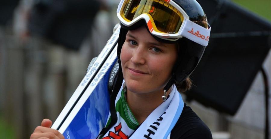 coline mattel saut a ski jeux olympiques