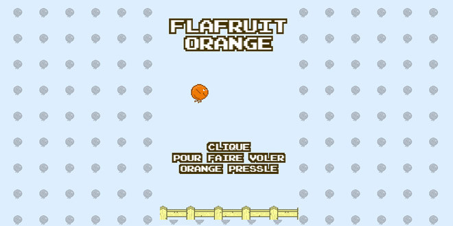 flafruit orange remplace flappy bird