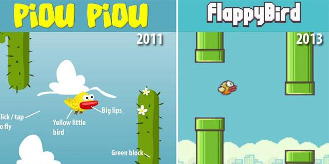 flappy bird retirer des plateforme de telechargement et kek plagiat