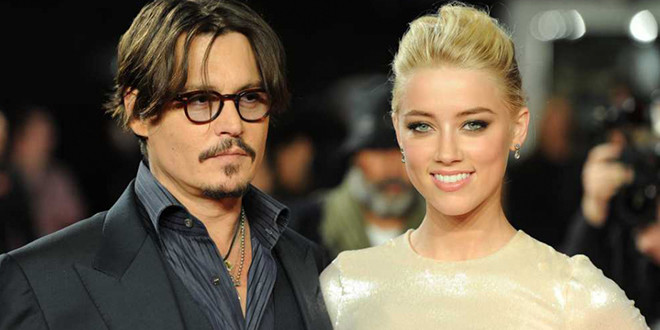 johnny depp et amber heard en couple sur le tapis rouge