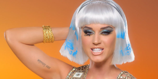 katy perry clip egypte dark horse