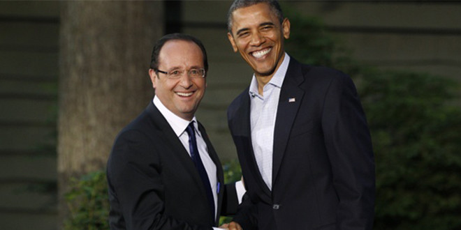 la rencontre obama hollande