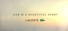 Lacoste: Life is a beautiful sport