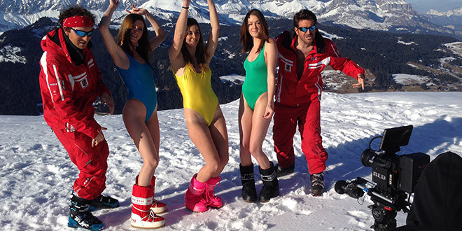 monos de ski palmashow very bad blague chanson humour