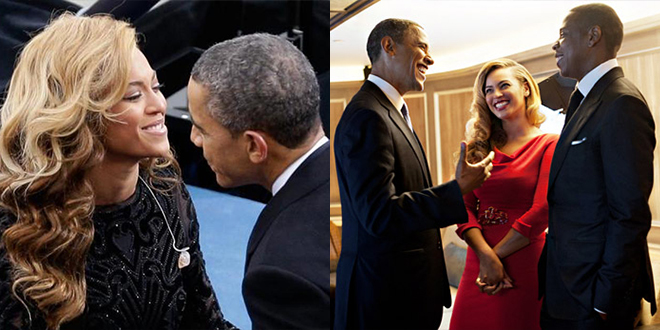 photo de barack obama et beyonce knowles